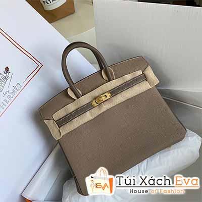 Túi xách Hermes Birkin Bag Siêu Cấp Màu Nâu Đẹp.