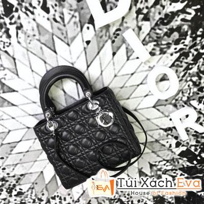 Túi Xách Dior Lady Siêu Cấp Màu Đen M44550