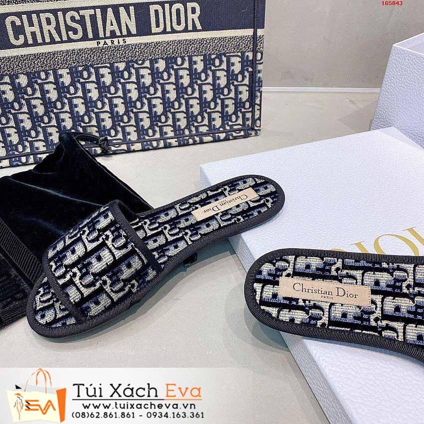Dép Dior Siêu Cấp Màu Xanh Đẹp.
