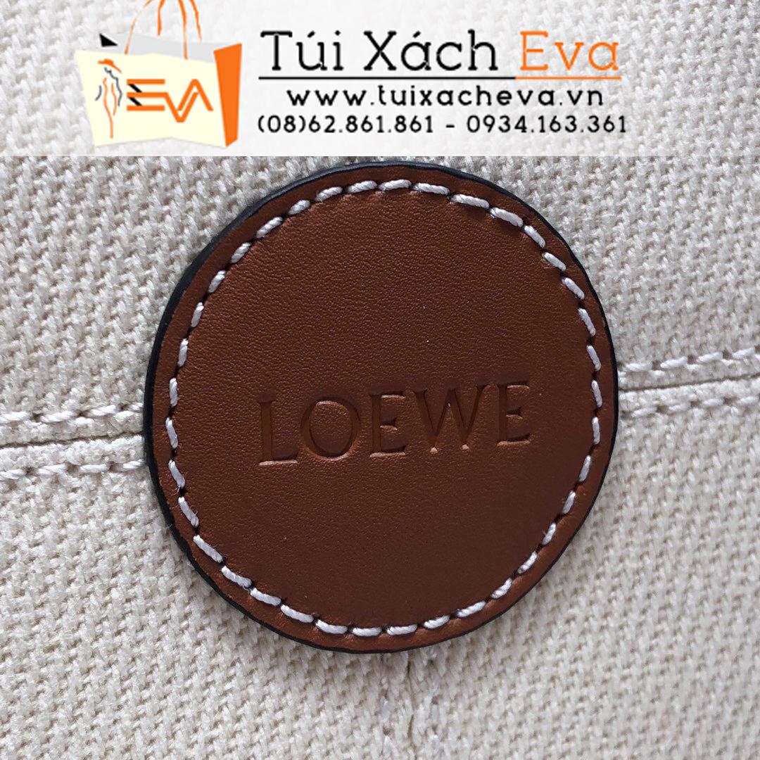 Túi Xách Loewe Cushion Tote Bag Siêu Cấp Màu Kem