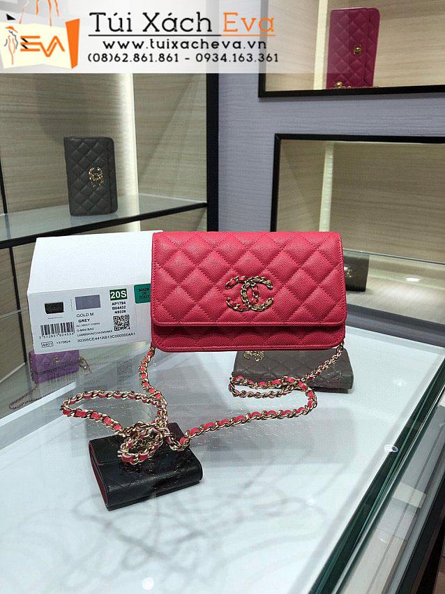 Túi Xách Chanel Woc Bag Siêu Cấp Màu Đỏ Đẹp M1794.