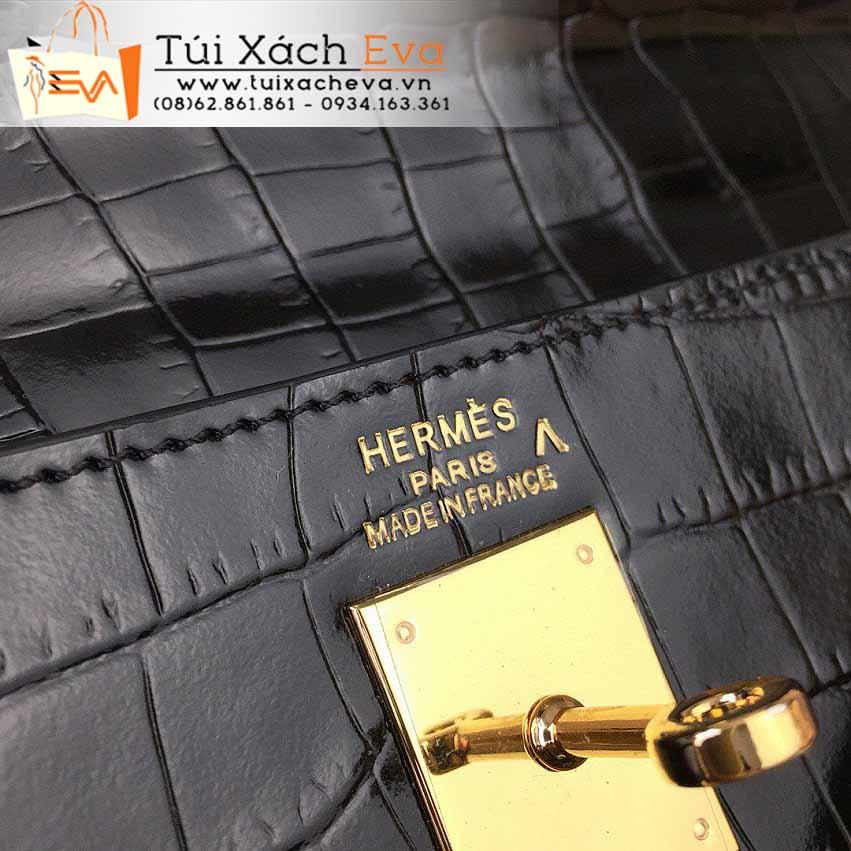 Túi Xách Hermes Kelly Bag Siêu Cấp Màu Đen Đẹp.