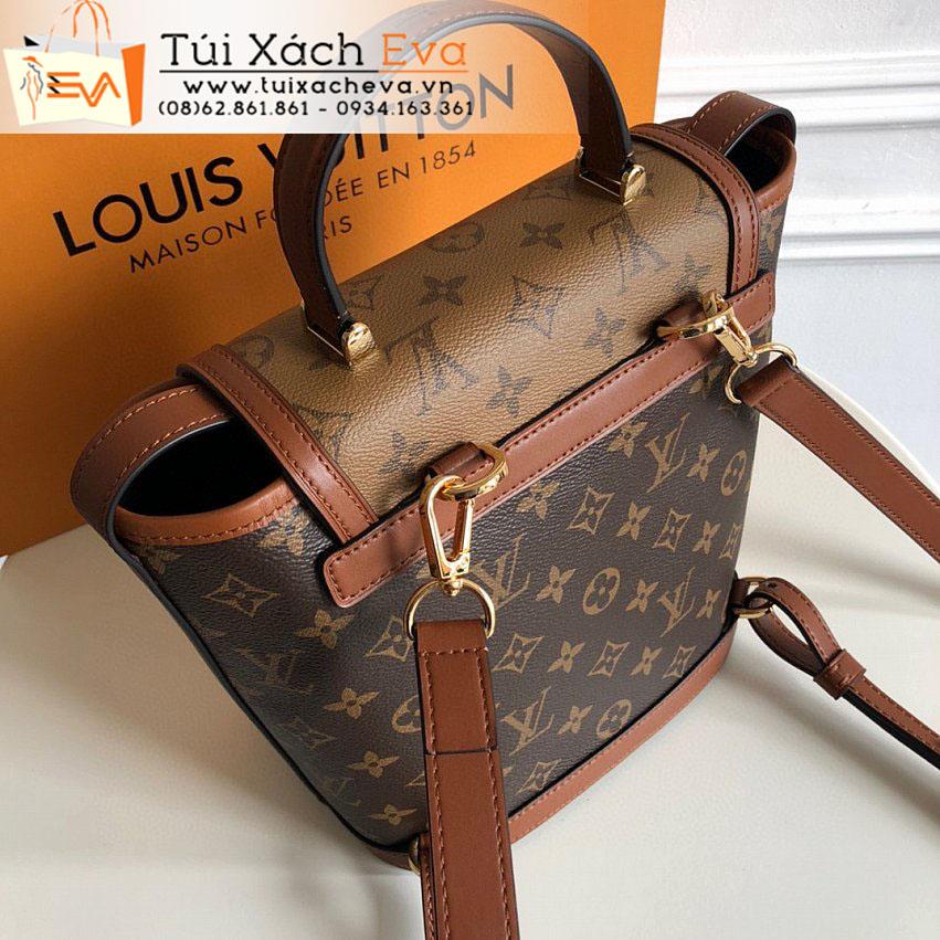 Balo LV Dauphine Bag Siêu Cấp Màu Nâu Đẹp M45142.