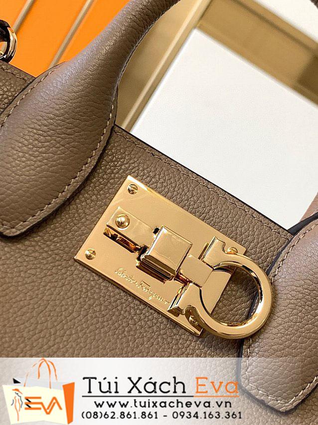 Túi Xách Salvastore Ferragamo Bag Siêu Cấp Màu Nâu Đẹp M21H159.