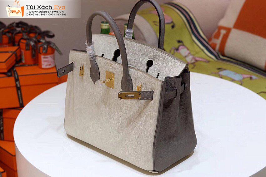 Túi Xách Hermes Birkin Bag Siêu Cấp Màu Trắng Đẹp.