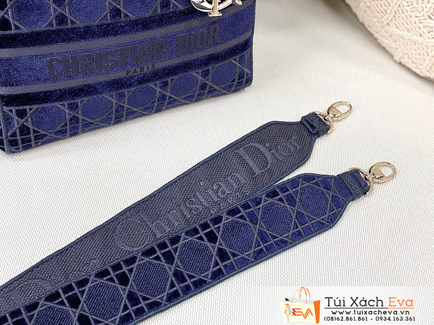 Túi Xách Dior Lady Bag Siêu Cấp Màu Xanh Đẹp.