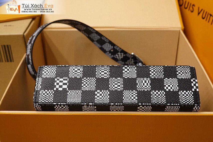 Túi Xách LV Bag Siêu Cấp Màu Đen Sọc Caro Đẹp M50032.